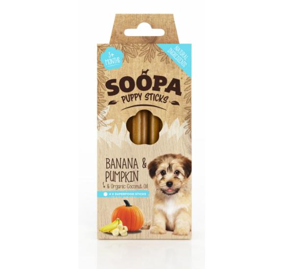 Banana & Pumpkin Puppy Dental Stick