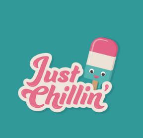 Just Chillin' logo
