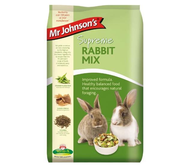 Mr Johnson's Supreme Rabbit Mix 2.25kg