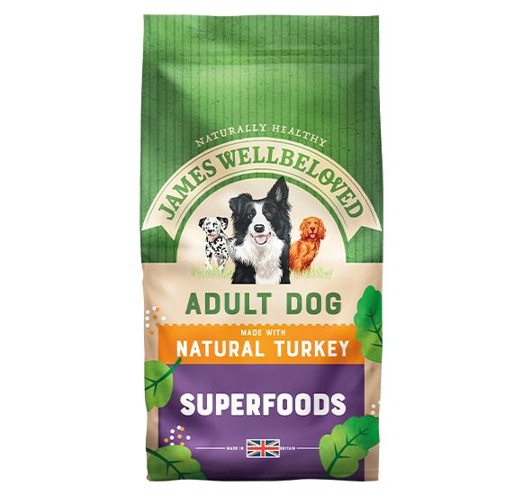 James Wellbeloved® Superfoods Adult Turkey Kale & Quinoa 1.5kg