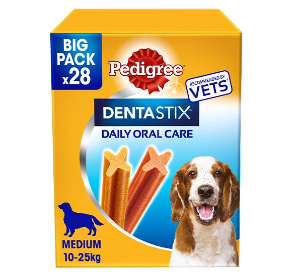 Pedigree® DentaStix® Daily Dental Chews Medium 28 stick